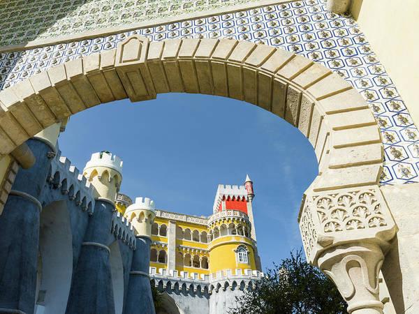Wall Art - Photograph - Palacio Nacional Da Pena In Sintra by Martin Zwick