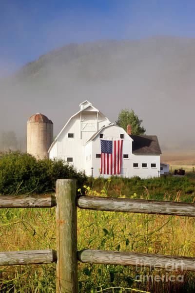 Photograph - Park City Barn by Brian Jannsen
