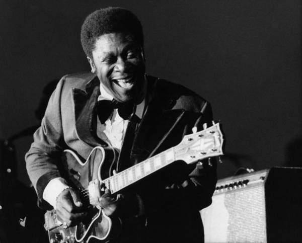 B B King Wall Art - Photograph - Photo Of Bb King by David Redfern