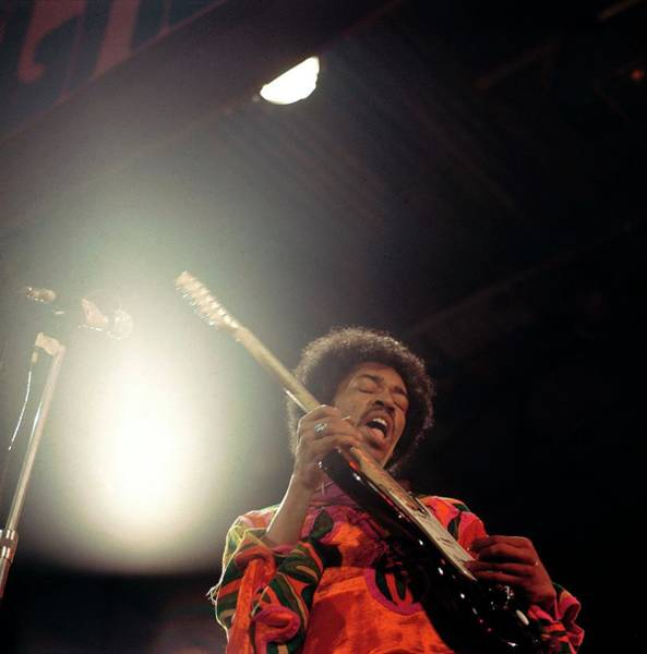 Jimi Hendrix Photograph - Photo Of Jimi Hendrix by David Redfern