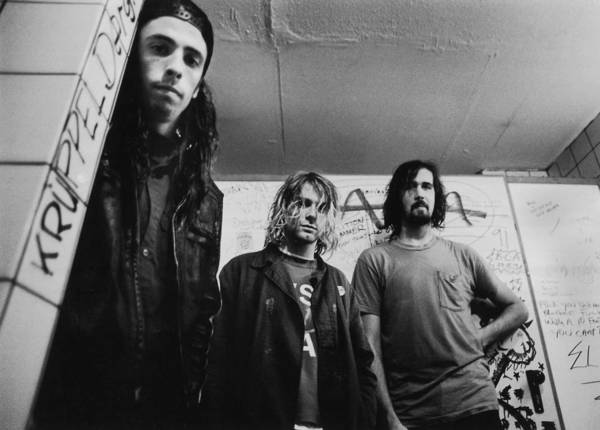 Dave Grohl Wall Art - Photograph - Photo Of Nirvana by Paul Bergen