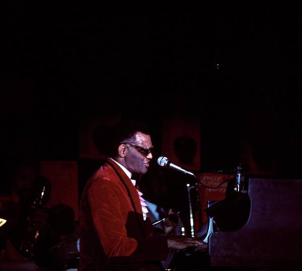Photograph - Photo Of Ray Charles by David Redfern