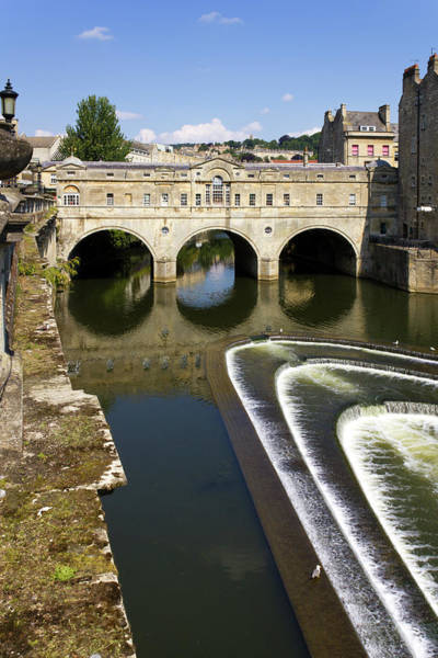 Somerset County Photograph - Picturesque City Of Bath by Seeables Visual Arts