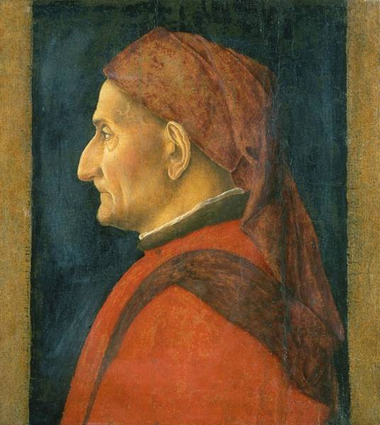 Wall Art - Painting - Portrait Of A Man  by Andrea Mantegna