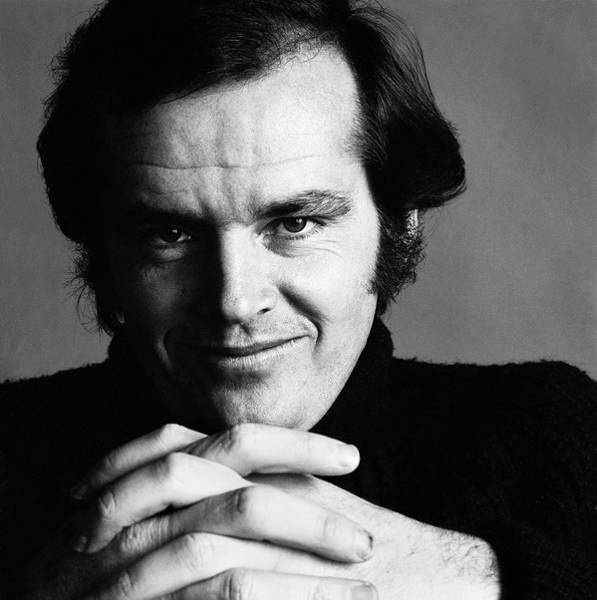 Wall Art - Photograph - Portrait Of Jack Nicholson by Jack Robinson