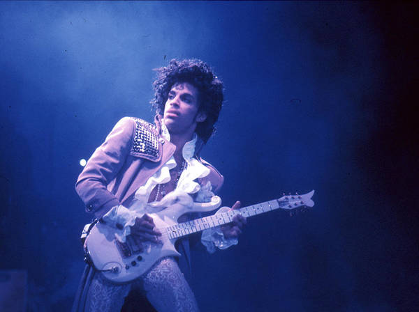 Horizontal Photograph - Prince Live In La by Michael Ochs Archives