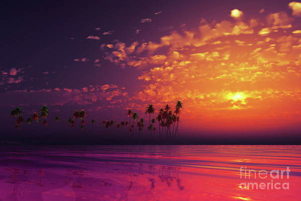 Wall Art - Photograph - Purple Sunset In Clouds by Aleksey Tugolukov