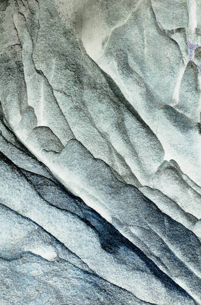 Photograph - Rocky Background by John Foxx