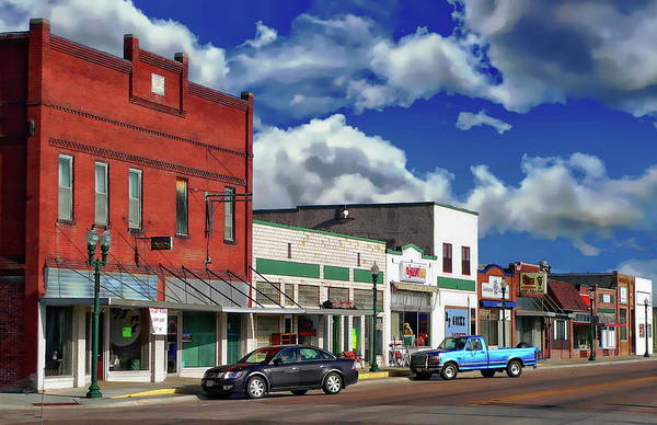 Photograph - Small Town America by Anthony Dezenzio