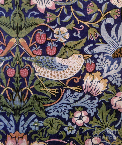 Wall Art - Painting - Strawberry Thief by William Morris