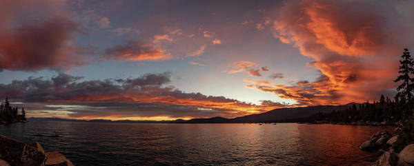 Wall Art - Photograph - Tahoe Sunset by Martin Gollery