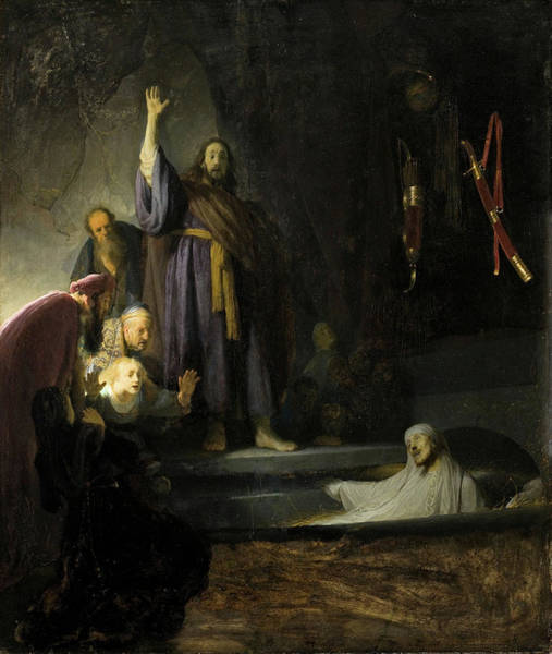 Painting - The Raising Of Lazarus by Rembrandt