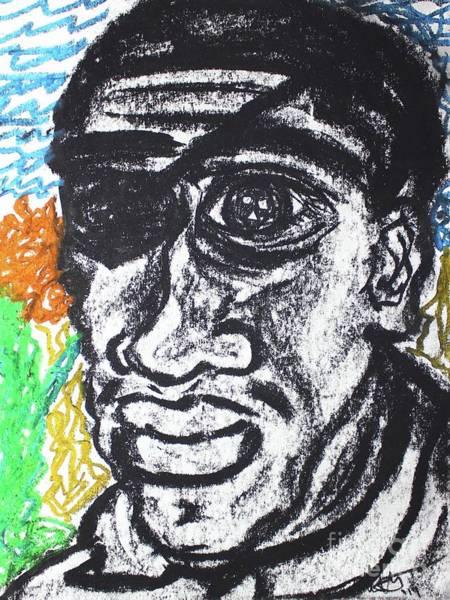 Pastel - Untitled  by Odalo Wasikhongo