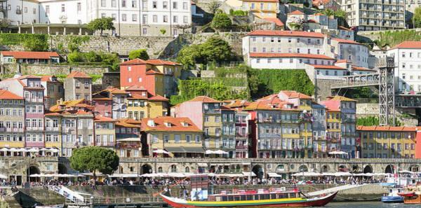 Wall Art - Photograph - View From Vila Nova De Gaia Towards by Martin Zwick