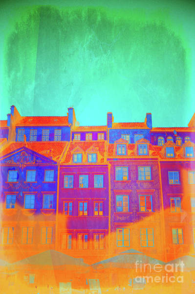 Wall Art - Photograph - Warsaw Old Town by Tom Gowanlock