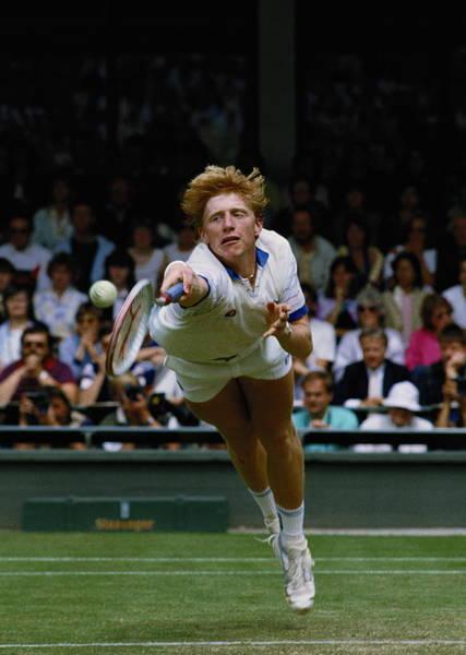 Tennis Photograph - Wimbledon Lawn Tennis Championship by Bob Martin