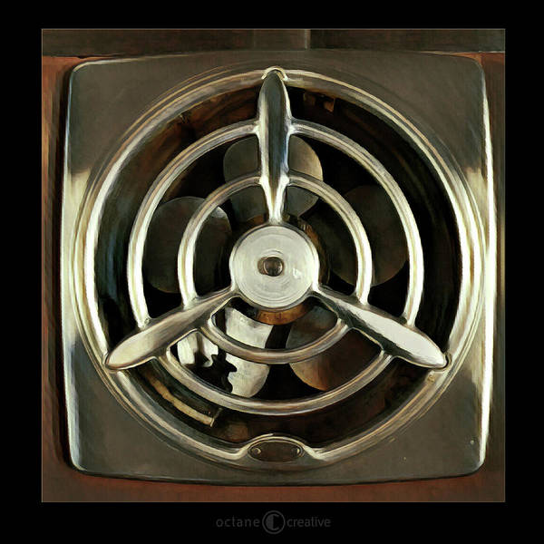 Photograph - 50s Kitchen Fan by Tim Nyberg
