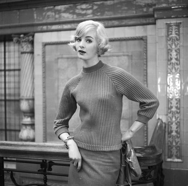 Sweater Photograph - 50s Style by Chaloner Woods