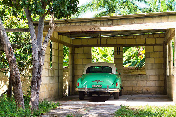 Photograph - 52 Chevy In Carport by Paul Rebmann