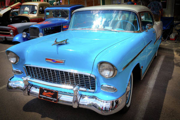 Wall Art - Photograph - 55 Chevy by David Patterson