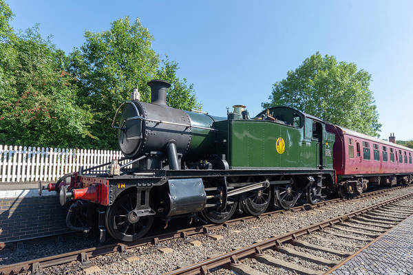 Photograph - 5542 At Shenton by Steam Train