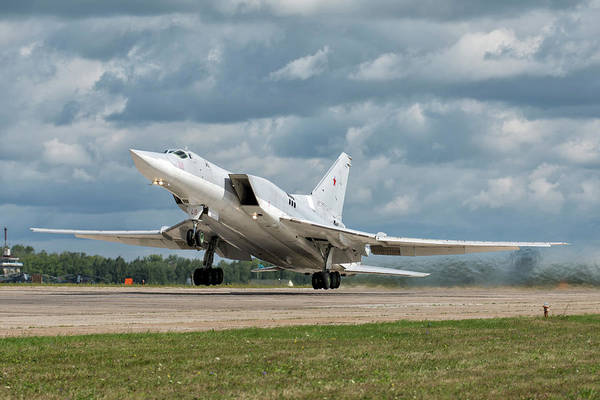 Wall Art - Photograph - A Russian Aerospace Forces Tu-22m-3 by Daniele Faccioli