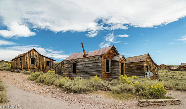 Bodie Ghost Town Wall Art - Photograph - Bodie California by Mike Ronnebeck
