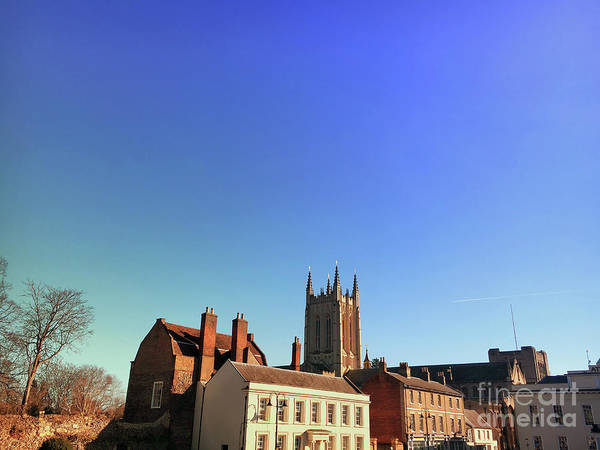 Wall Art - Photograph - Bury St Edmunds Buildings  by Tom Gowanlock