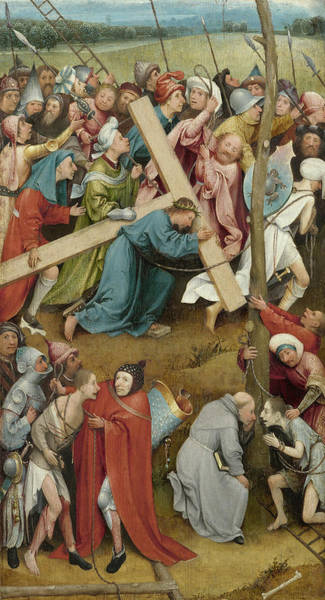 Painting - Christ Carrying The Cross by Hieronymus Bosch