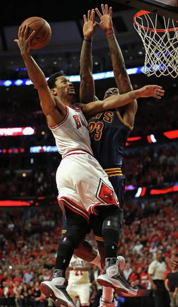 Chicago Bulls Photograph - Cleveland Cavaliers V Chicago Bulls - by Jonathan Daniel