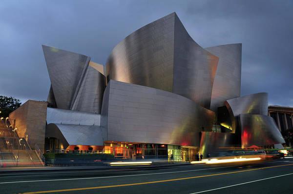 Concert Hall Photograph - Disney Concert Hall by Mitch Diamond