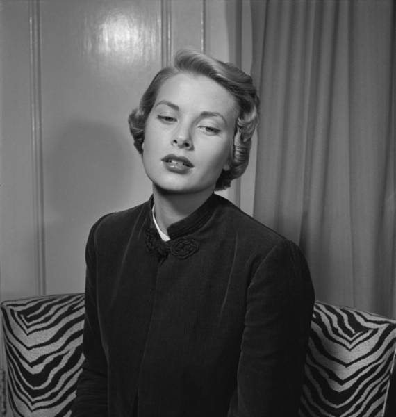 Photograph - Grace Kelly Portrait Session by Ed Vebell