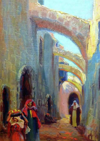 Wall Art - Photograph - Jerusalem Old City Street by Munir Alawi