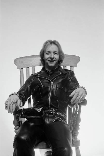 Armchair Photograph - Judas Priest by Fin Costello