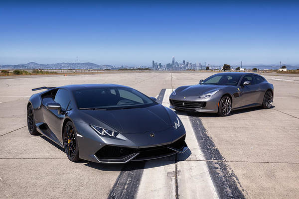 Photograph - #lamborghini #huracan #print by ItzKirb Photography