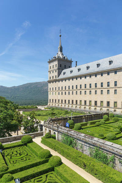 Wall Art - Photograph - Monastery, El Escorial, Spain by Ken Welsh
