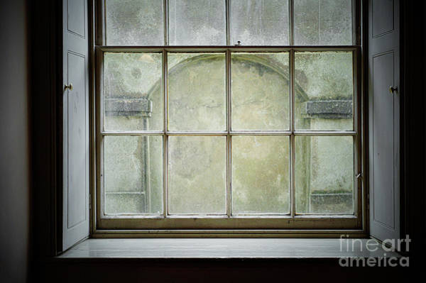 Wall Art - Photograph - Old Window Frame by Tom Gowanlock