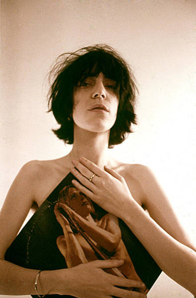 Photograph - Patti Smith Portrait Session by Michael Ochs Archives