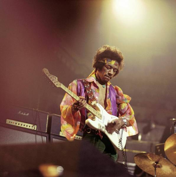 Stratocaster Photograph - Photo Of Jimi Hendrix by David Redfern