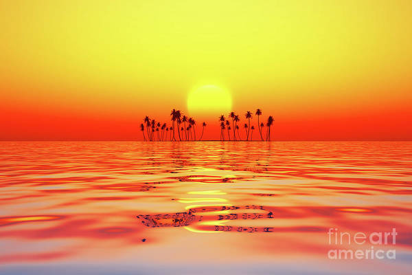 Wall Art - Photograph - Red Sunset by Aleksey Tugolukov