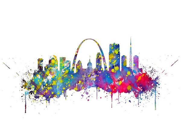Wall Art - Digital Art - Saint Louis by Erzebet S