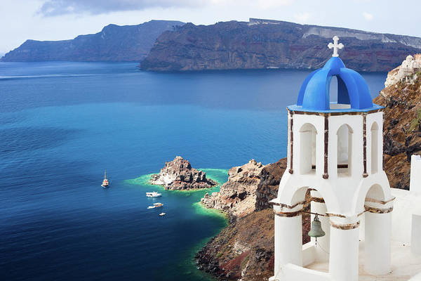 Church Photograph - Santorini, Greece by Traveler1116