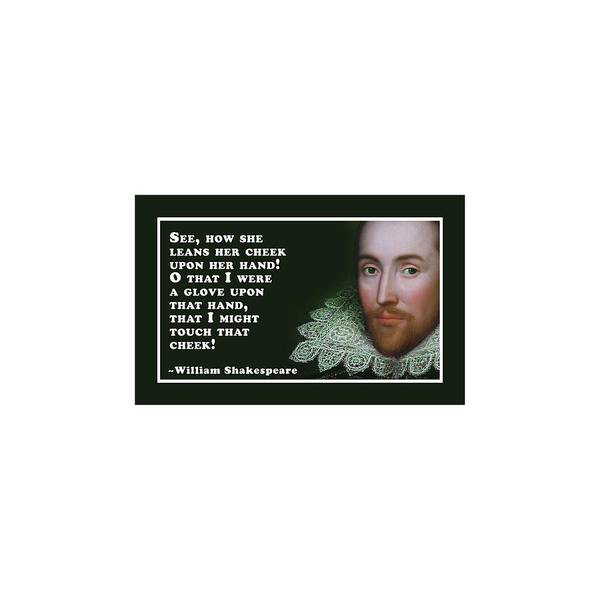 She Digital Art - See #shakespeare #shakespearequote by TintoDesigns