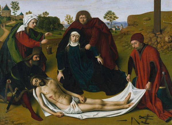 Painting - The Lamentation by Petrus Christus