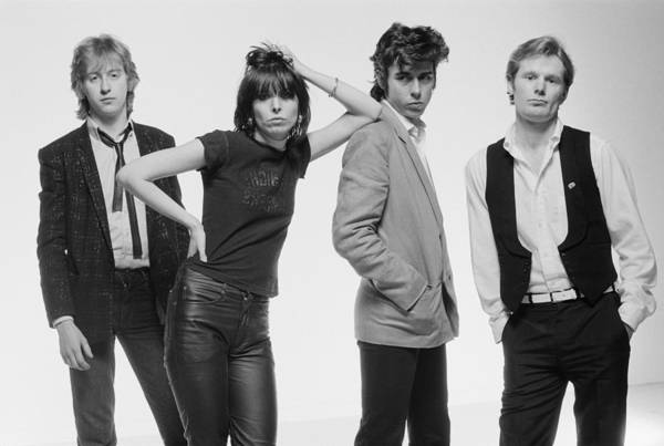 Small Photograph - The Pretenders by Fin Costello