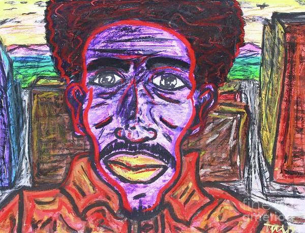 Drawing - Untitled by Odalo Wasikhongo