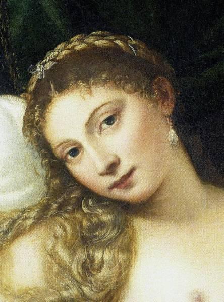 Plaits Painting - Venus Of Urbino by Titian