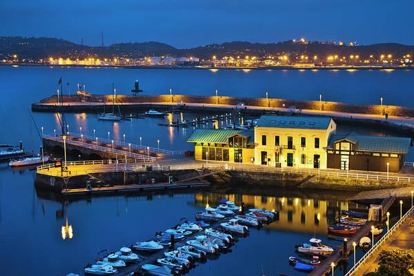 Motorboat Photograph - View Of Gijon by Gonzalo Azumendi