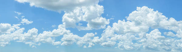 Wall Art - Photograph - White Clouds Cumulus On Blue Sky by Panoramic Images