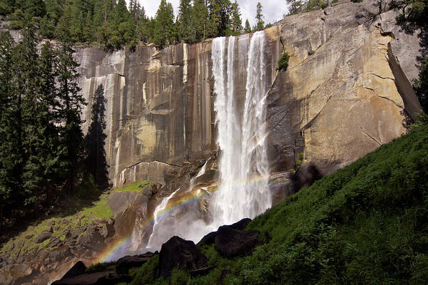 Vernal Fall Photograph - Yosemite National Park, California by Latitudestock - Emma Durnford